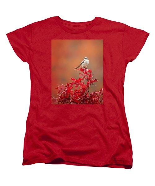 Mockingbird Autumn Women's T-Shirt (Standard Cut) by Bill Wakeley