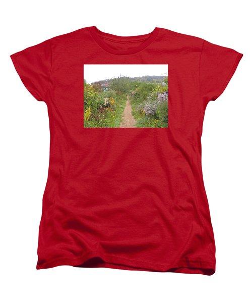 Monet's Garden 5 Women's T-Shirt (Standard Cut)