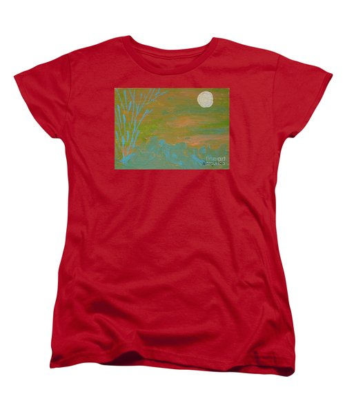Moonlight In The Wild Women's T-Shirt (Standard Cut)
