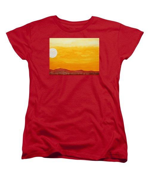 Moonshine Original Painting Sold Women's T-Shirt (Standard Cut) by Sol Luckman