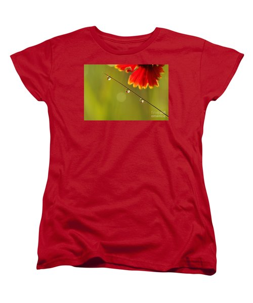 Women's T-Shirt (Standard Cut) featuring the photograph Morning Dew by Patrick Shupert