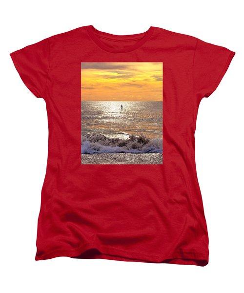 Sunrise Solitude Women's T-Shirt (Standard Cut)