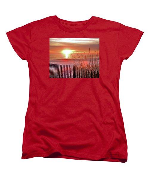 Morning Sandfire Women's T-Shirt (Standard Cut)