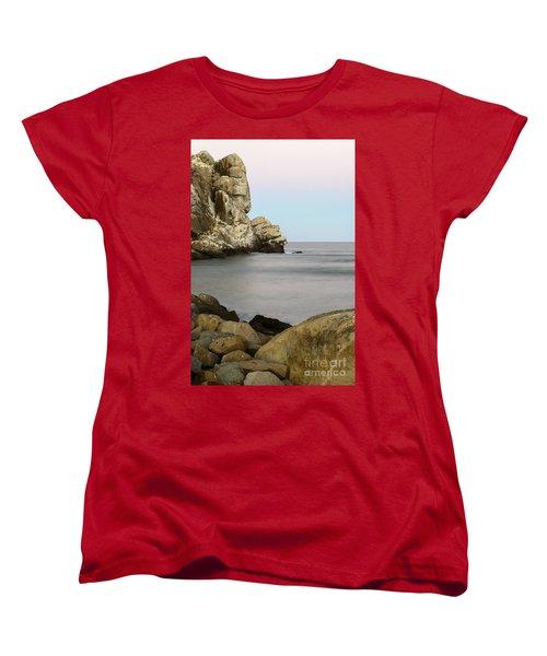 Morro Bay Morning 2 Women's T-Shirt (Standard Cut) by Terry Garvin