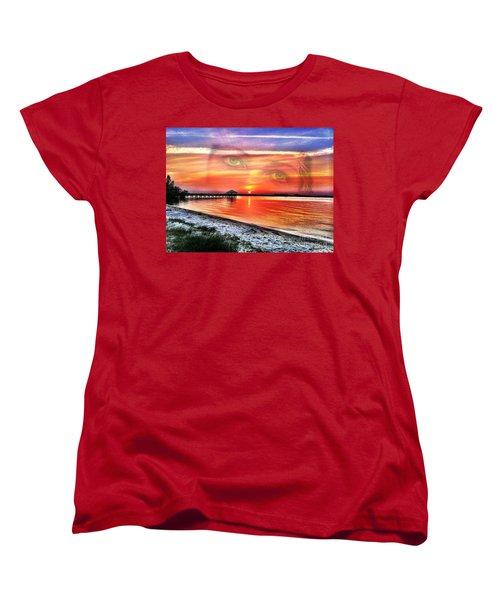 Mother  Women's T-Shirt (Standard Cut) by Carlos Avila