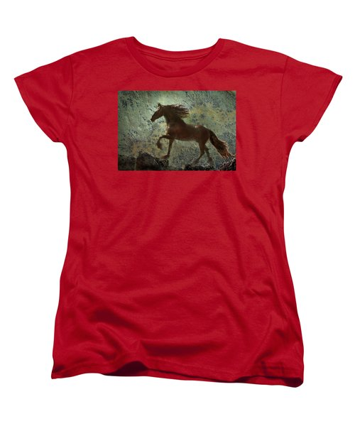 Mountain Majesty Women's T-Shirt (Standard Cut) by Melinda Hughes-Berland