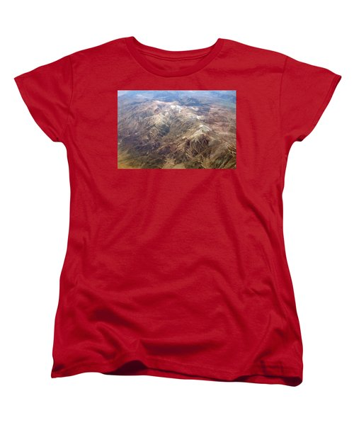 Women's T-Shirt (Standard Cut) featuring the photograph Mountain View by Mark Greenberg