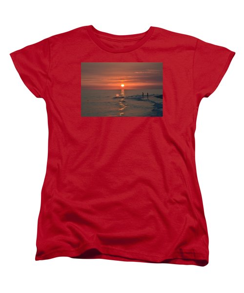 Women's T-Shirt (Standard Cut) featuring the photograph My Two Hearts by Melanie Moraga