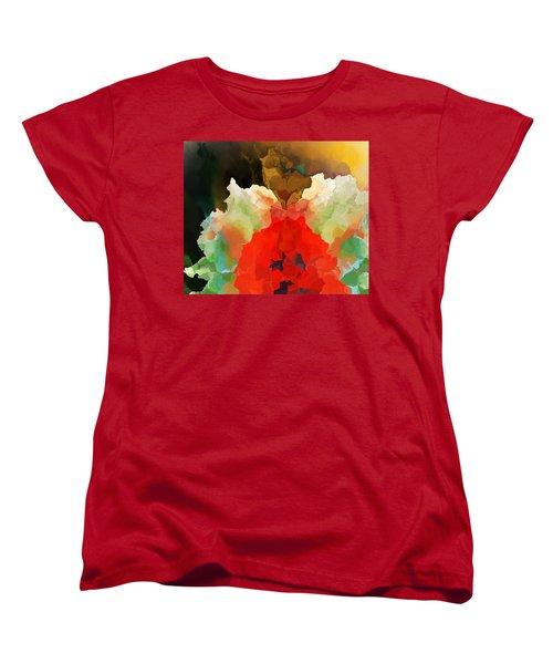 Women's T-Shirt (Standard Cut) featuring the digital art Mystic Bloom by David Lane