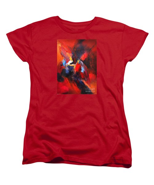 Mystic Image Women's T-Shirt (Standard Cut) by Glory Wood