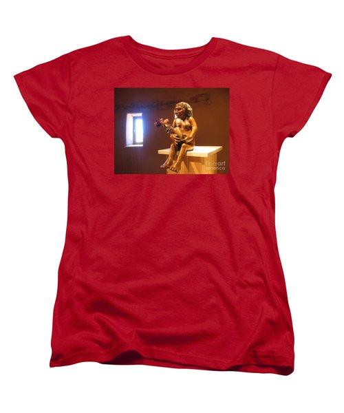 Women's T-Shirt (Standard Cut) featuring the photograph Native American Art by Dora Sofia Caputo Photographic Art and Design