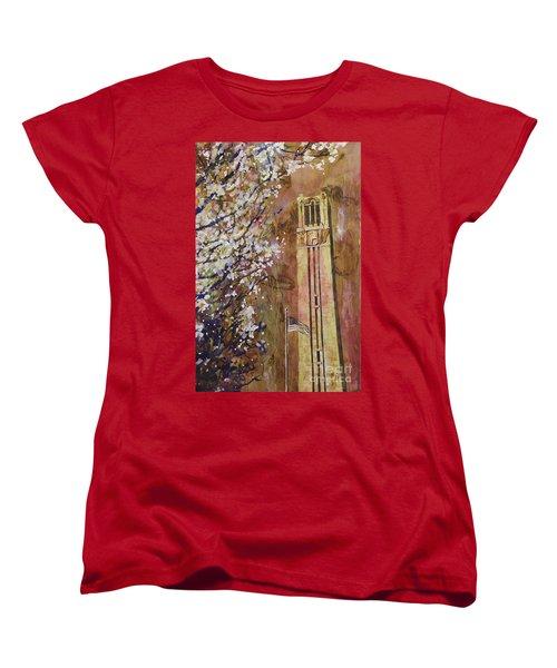 Ncsu Bell Tower Women's T-Shirt (Standard Cut)