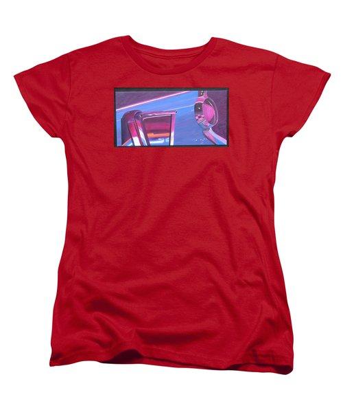 Neon Reflections IIi Women's T-Shirt (Standard Cut) by Karin Thue