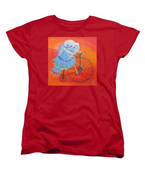 Niece Sonia Women's T-Shirt (Standard Cut) by Marina Gnetetsky