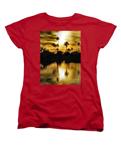 Nightfall Women's T-Shirt (Standard Cut) by Deb Halloran