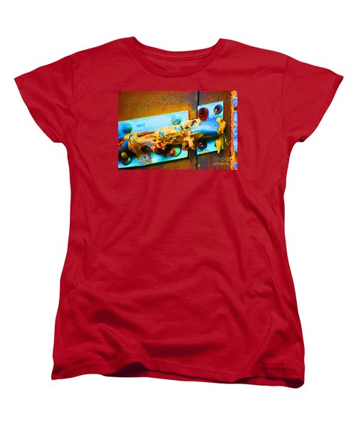 Women's T-Shirt (Standard Cut) featuring the photograph No Trespassing by Christiane Hellner-obrien