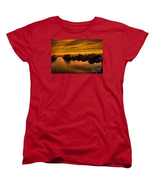 North Carolina Sunset Women's T-Shirt (Standard Cut) by Tony Cooper