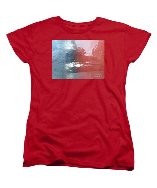 Women's T-Shirt (Standard Cut) featuring the photograph Not Making Violet by Brian Boyle