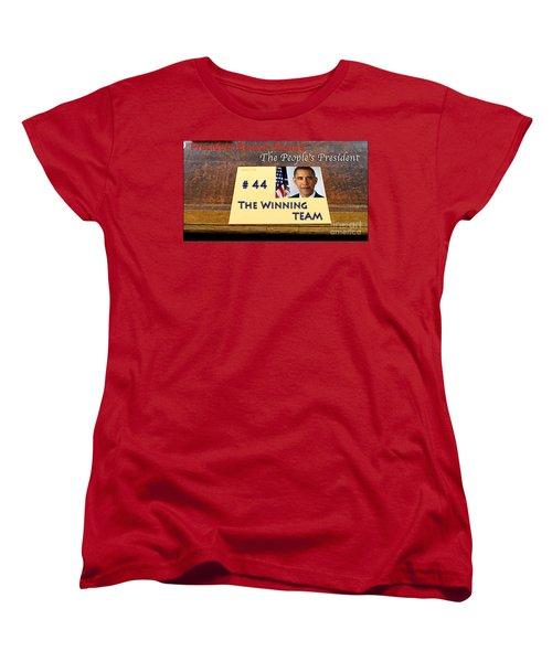 Number 44 - The Winning Team Women's T-Shirt (Standard Cut) by Terry Wallace