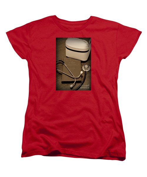 Nurse - The Care Giver Women's T-Shirt (Standard Cut) by Paul Ward