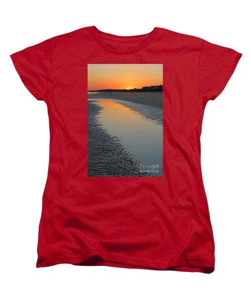 Ocean Tidal Pool Women's T-Shirt (Standard Cut) by Kevin McCarthy