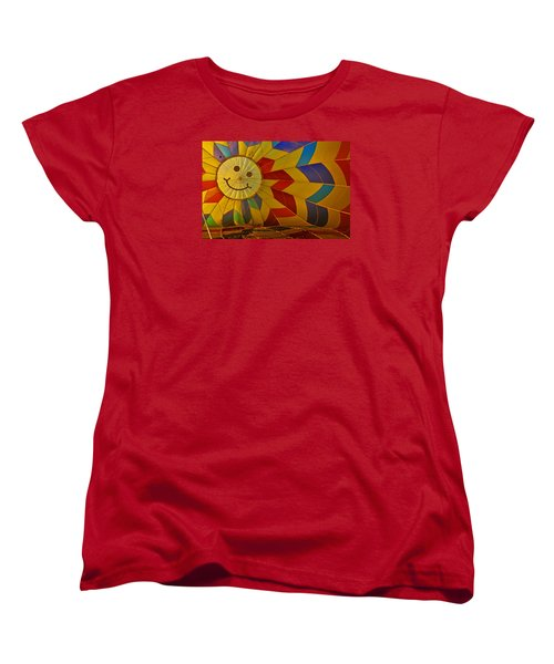 Oh Happy Day Women's T-Shirt (Standard Cut) by Mike Martin