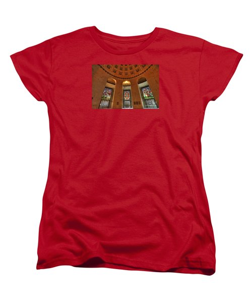Ohio Stadium Women's T-Shirt (Standard Cut) by David Bearden