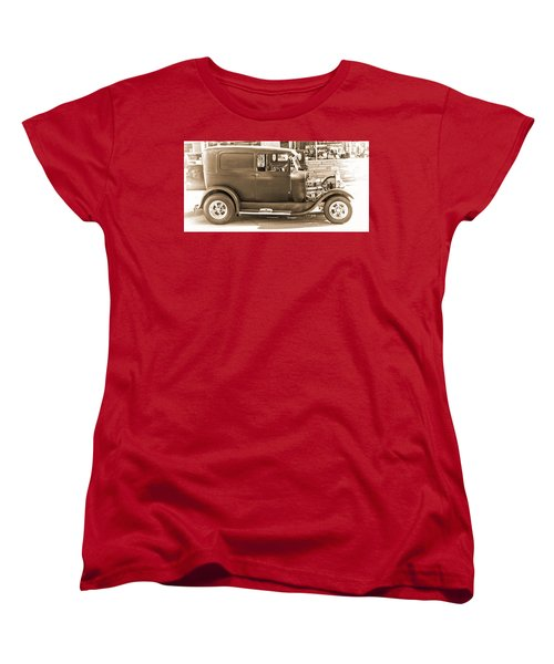 Old Ford Women's T-Shirt (Standard Cut) by Cathy Anderson
