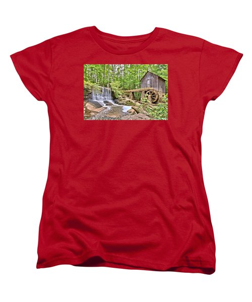 Old Lefler Grist Mill Women's T-Shirt (Standard Cut)
