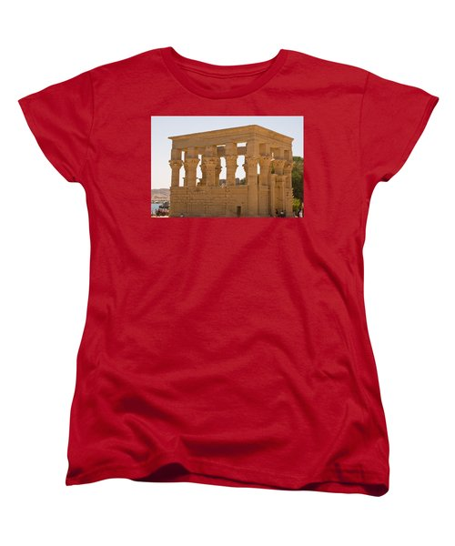 Old Structure 3 Women's T-Shirt (Standard Cut) by James Gay