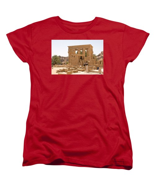 Old Structure Women's T-Shirt (Standard Cut) by James Gay