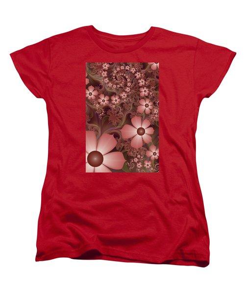 Women's T-Shirt (Standard Cut) featuring the digital art On A Summer Evening by Gabiw Art