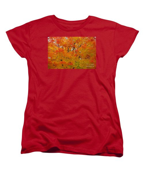 Women's T-Shirt (Standard Cut) featuring the photograph Orange Crush by Robert Pearson