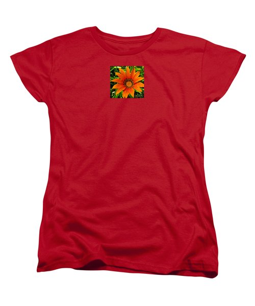 Orange Sunshine Women's T-Shirt (Standard Cut) by Janice Westerberg