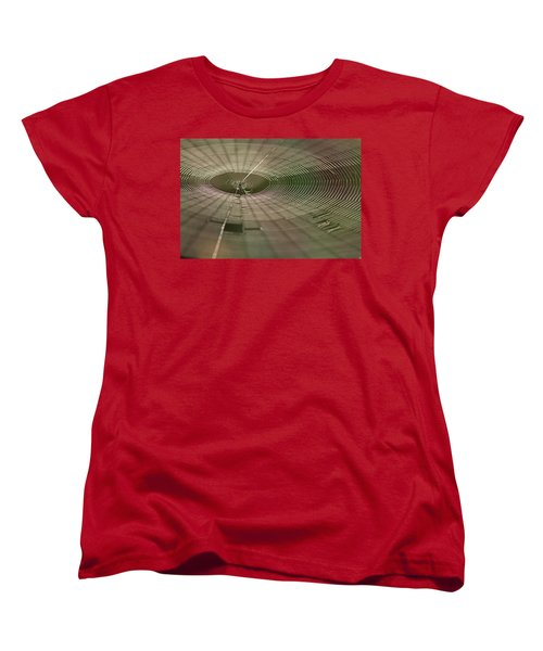 Women's T-Shirt (Standard Cut) featuring the photograph Orchard Orbweaver #1 by Paul Rebmann