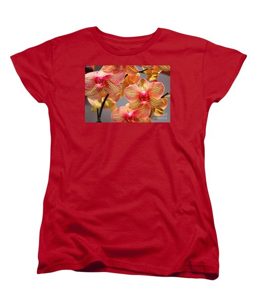 Women's T-Shirt (Standard Cut) featuring the photograph Orchid by Judy Palkimas
