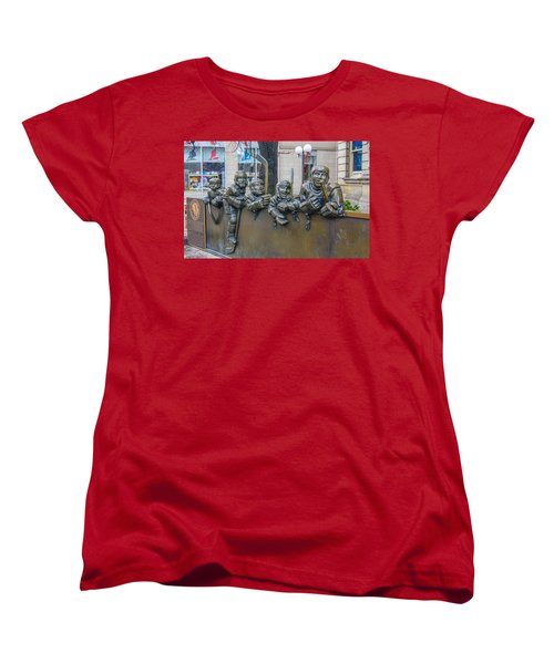 Our Game Women's T-Shirt (Standard Cut) by Guy Whiteley