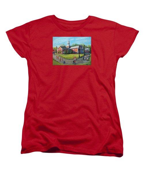 Our Time At Bentley University Women's T-Shirt (Standard Cut) by Rita Brown