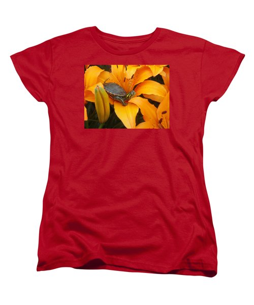 Painted Lilly Women's T-Shirt (Standard Cut) by James Peterson