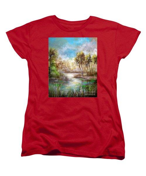 Paradise Women's T-Shirt (Standard Cut) by Patrice Torrillo