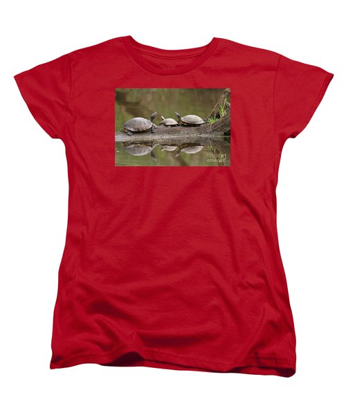 Parental Supervision  Women's T-Shirt (Standard Cut) by Kevin McCarthy