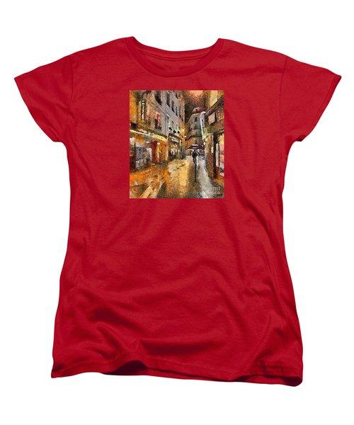 Paris St. Germain Women's T-Shirt (Standard Cut) by Dragica  Micki Fortuna
