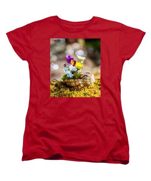 Patterns In Nature Women's T-Shirt (Standard Cut) by Aaron Aldrich