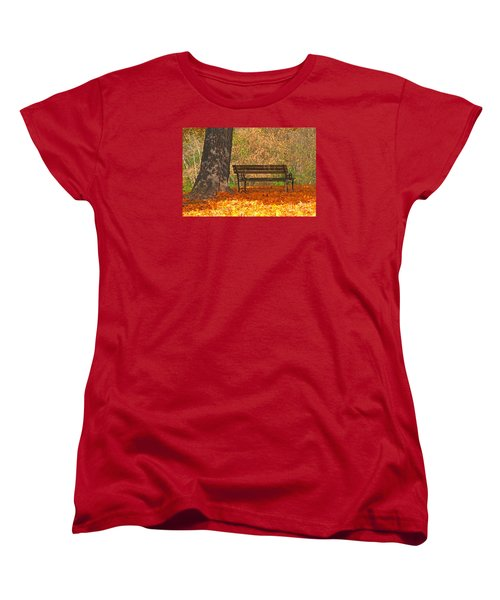 Women's T-Shirt (Standard Cut) featuring the photograph Peace And Quiet by Geraldine DeBoer