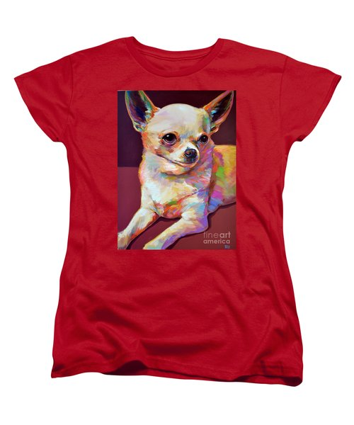 Women's T-Shirt (Standard Cut) featuring the painting Pedro by Robert Phelps