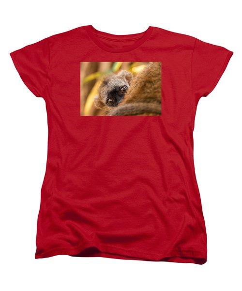 Peekaboo Women's T-Shirt (Standard Cut) by Alex Lapidus