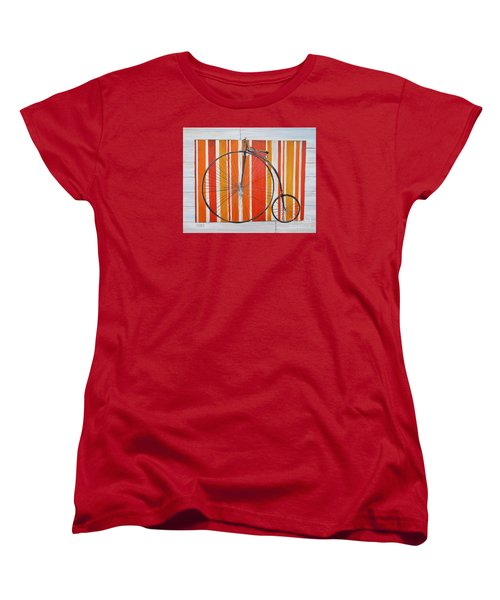 Penny-farthing Women's T-Shirt (Standard Cut) by Marilyn  McNish