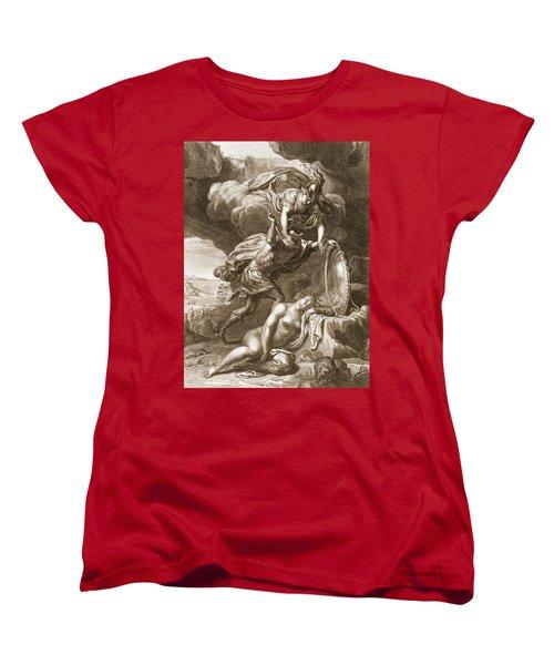 Perseus Cuts Off Medusas Head, 1731 Women's T-Shirt (Standard Cut) by Bernard Picart