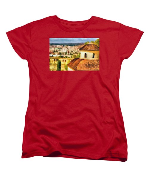 Pious Witness To The Passage Of Time Women's T-Shirt (Standard Cut) by Jeff Kolker