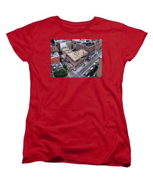 Placing Concrete Forms Women's T-Shirt (Standard Cut) by Steve Sahm